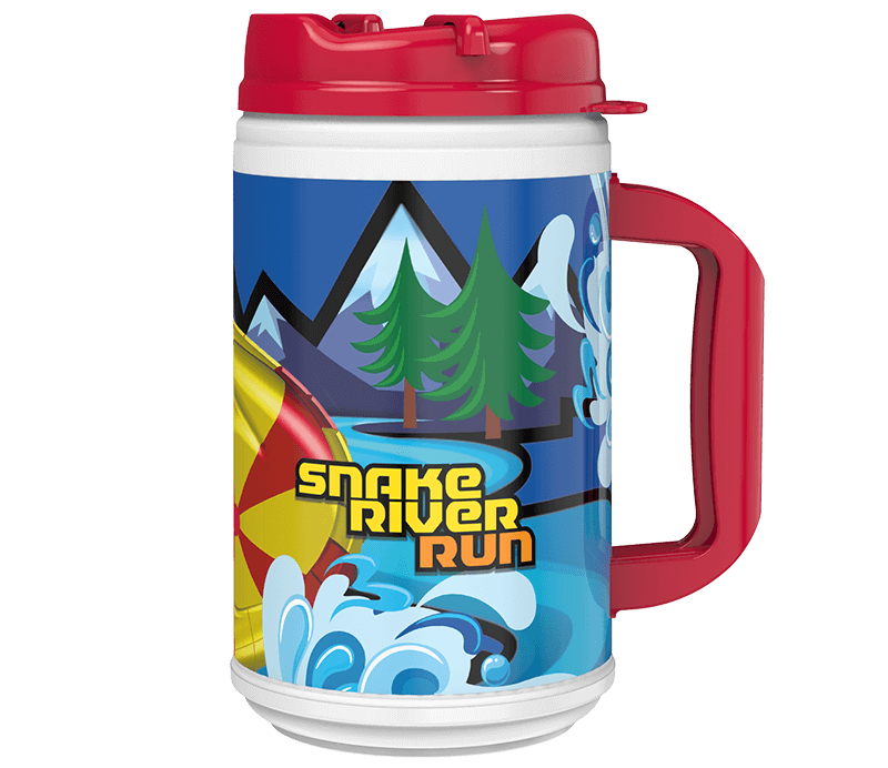 Snake River Run Refillable Mug