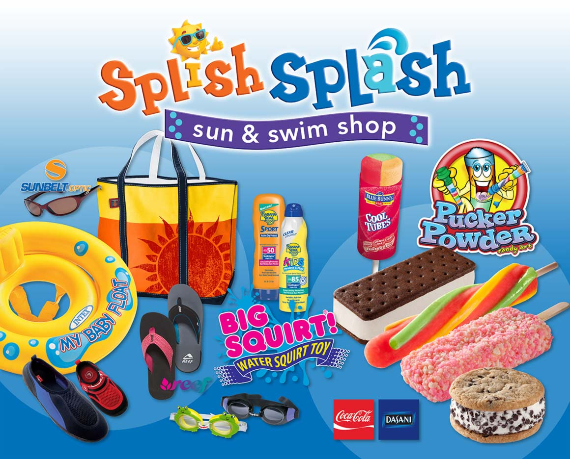 Splish Splash Sun & Swim Shop Promo Image